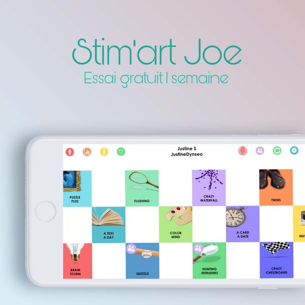 jeux de mémoire en ligne avec Stim'art