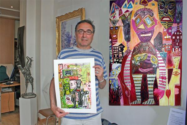 ascal Robaglia, le galeriste d'art moderne et contemporain
