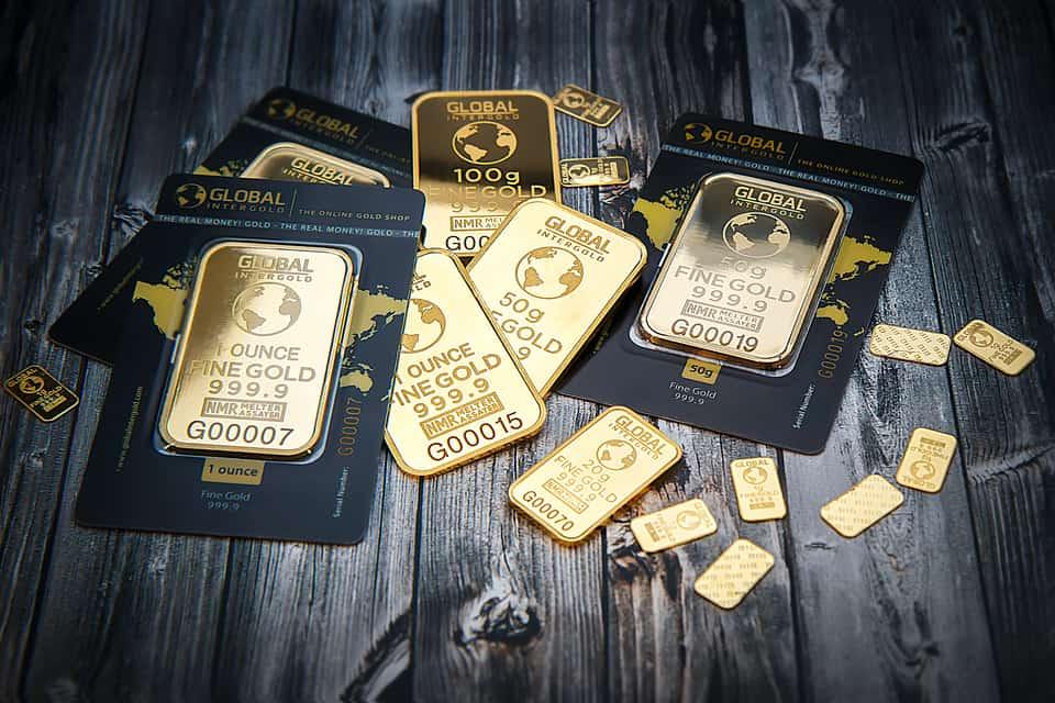 La vente d'or